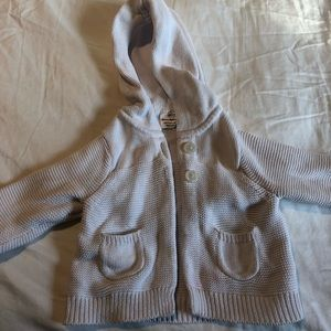 Hannah Andersson Knitted, hooded sweater